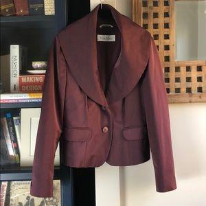 MaxMara Satin Jacket Blazer 8 Max Mara